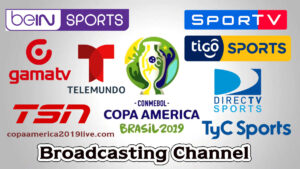 Copa America 2019 Broadcasting TV channels Listing