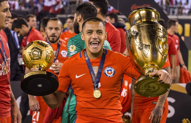 Chile beat argentina in Copa America