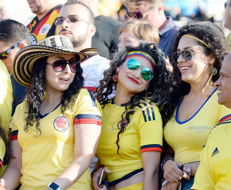 Copa America football fans