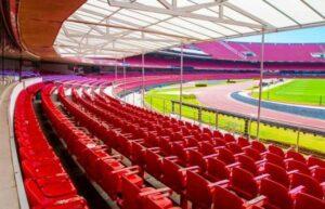 Morumbi stadium in Sao Paulo, Brazil seating capacity of 60000 and more