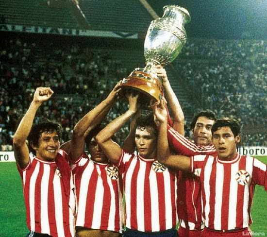Paraguay champions of copa tournament in 1953 and 1979