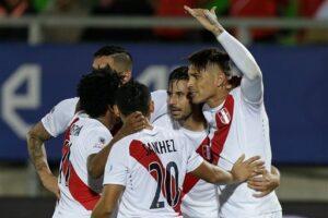 Peru players in copa america events
