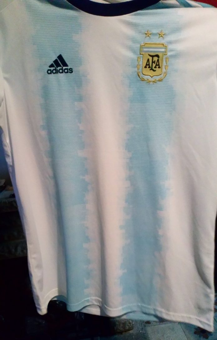 possible Argentina Home shirt for Copa america 2019