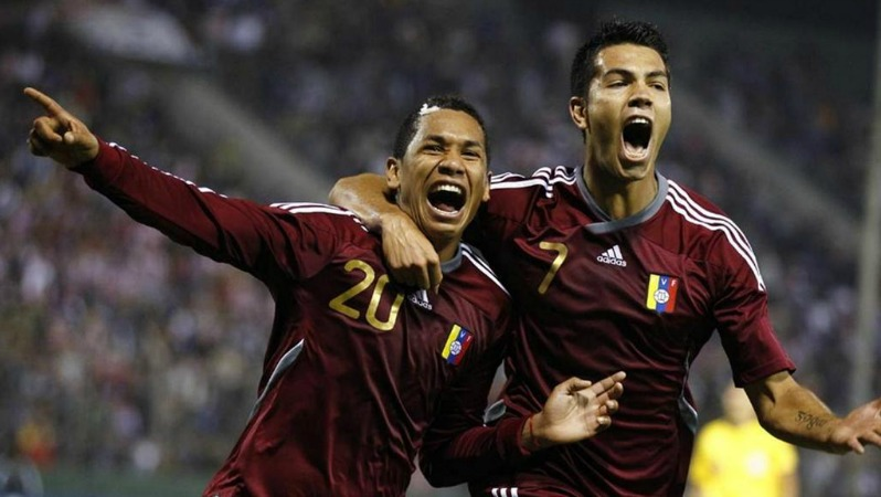 Venezuela football players in copa america