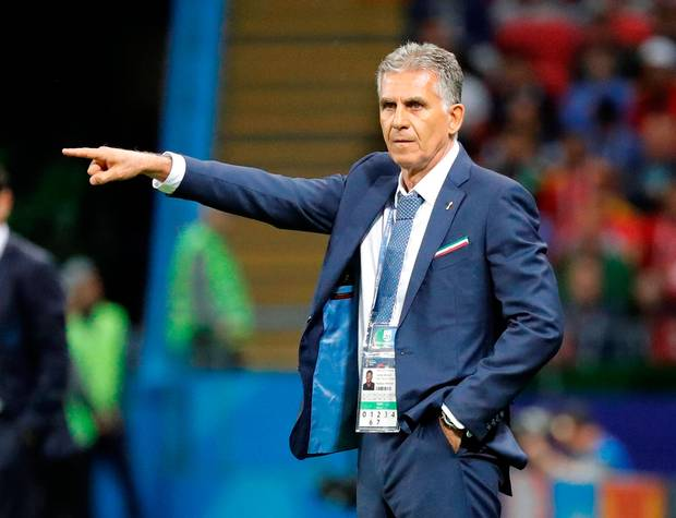 Carlos Queiroz colombia new coach