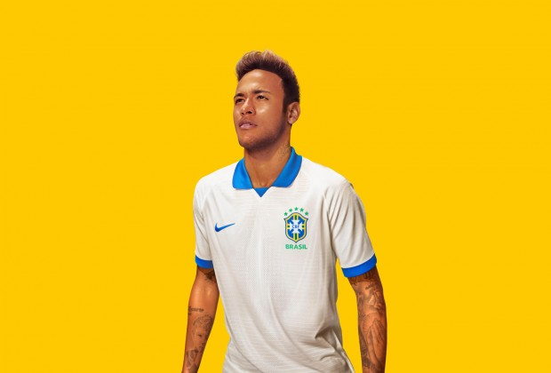 Brazil copa america 2019 kits of white
