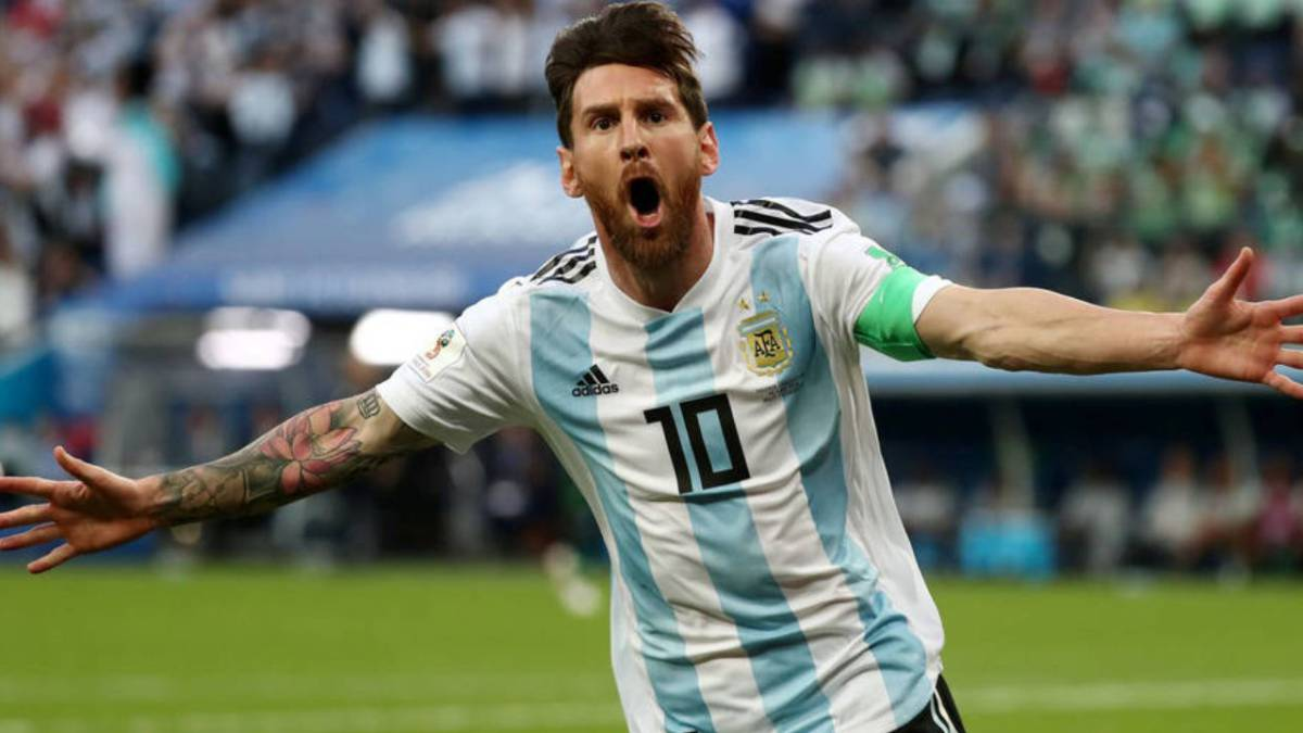 Argentina football star messi